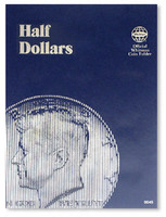 Half Dollars Plain Coin Folder