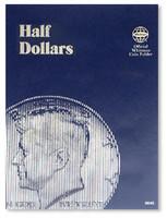 Half Dollars Plain Coin Folder