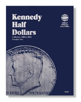 Kennedy Half Dollars 1986-2003 Coin Folder