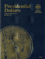 Presidential Dollars Collection 2007 to 2011 Coin Folder
