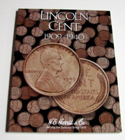Lincoln Cent 1909-1940 Cardboard Coin Folder