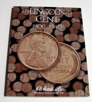 Lincoln Cent 1909-1940 Cardboard Coin Folder