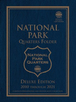 National Park Quarters 2010-21 Philadelphia & Denver Mint Deluxe Edition Coin Folder