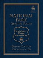 National Park Quarters 2010-21 Philadelphia & Denver Mint Deluxe Edition Coin Folder