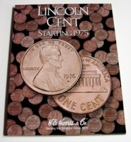 Lincoln Cent 1975-2000 Cardboard Coin Folder