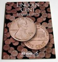 Lincoln Cent 1975-2000 Cardboard Coin Folder
