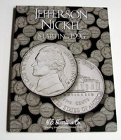 Jefferson Nickel 1996-2002 Cardboard Coin Folder