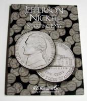 Jefferson Nickel 1996-2002 Cardboard Coin Folder