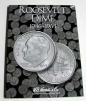 Roosevelt Dime 1946-1964 Cardboard Coin Folder