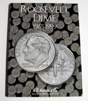 Roosevelt Dime 1965-1999 Cardboard Coin Folder