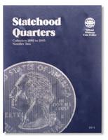 Statehood Quarters Vol.2 2002-2005 Coin Folder