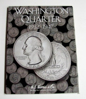 Washington Quarter 1932-1947 Cardboard Coin Folder