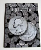 Washington Quarter 1948-1964 Cardboard Coin Folder
