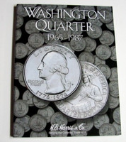 Washington Quarter 1965-1987 Cardboard Coin Folder