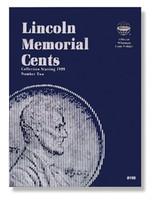 Lincoln Memorial Cents 1999-2004 Coin Folder