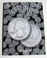 Washington Quarter 1988-1998 Cardboard Coin Folder