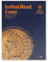 Indian Head Cents 1857-1909 Coin Folder