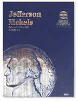 Jefferson Nickels 1938-1961 Coin Folder