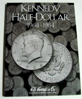 Kennedy Half Dollar 1964-1984 Cardboard Coin Folder