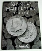 Kennedy Half Dollar 1964-1984 Cardboard Coin Folder
