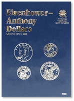 Eisenhower & Anthony Dollars 1971-1999 Coin Folder