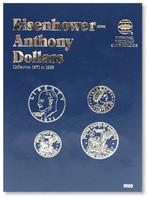 Eisenhower & Anthony Dollars 1971-1999 Coin Folder