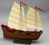 "Junior Modelers: 12"" Chinese Junk Sailboat Kit Dumas"