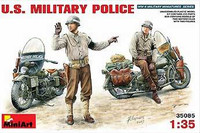 US Military Police and Motorcycles 1/35 MiniArt