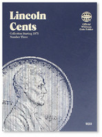 Lincoln Cents 1975-2002 Coin Folder