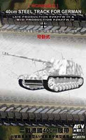PzKpfw III Late Prod/PzKpfw IV Mid Prod 1942-45 40cm Steel Type Workable Track Links 1/35 AFV Club