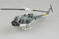 UH1F Huey Czech Navy Helicopter (Built-Up Plastic) 1/72 Easy Model
