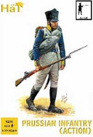 Napoleonic Prussian Infantry Action (40) 1/72 Hat