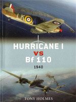Duel: Hurricane I vs Bf110 1940 Osprey Books