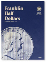 Franklin Half Dollars 1948-1963 Coin Folder