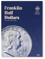 Franklin Half Dollars 1948-1963 Coin Folder