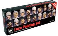 Face Painting Set (8 Colors) 17ml Bottle Acrylic Vallejo Paint