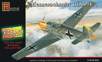 Messerschmitt Bf109E4 Aircraft (Snap Kit) 1/48 Pegasus