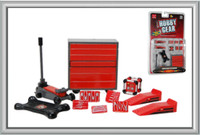 Garage Accessories: Tool Chest, Hand Tools, Creeper, Floor Jack, Ramps, Generator 1/24 Phoenix Toys