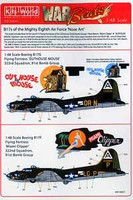 B-17F/G Miami Clipper, Out-House Mouse 1/48 Warbird Decals