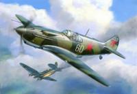 LaGG-3 Soviet WWII  Fighter (Snap Kit) 1/144 Zvezda