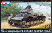 Panzer II A/B/C (SdKfz 121) French Campaign Tank 1/48 Tamiya