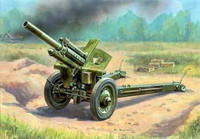 Soviet 122mm M-30 Howitzer Gun (Snap Kit) 1/72 Zvezda