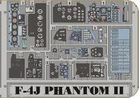 F-4J Phantom II or TAM (Painted) 1/32 Eduard