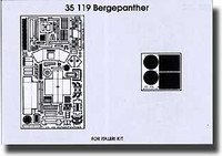 Bergepanther Detail Set for ITA 1/35 Eduard