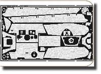 Zimmerit King Tiger Porsche Turret for TAM 1/35 Eduard