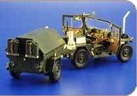 Willys Jeep MB Cal.50 for HSG 1/24 Eduard