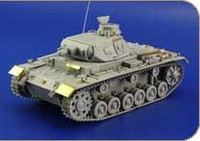 Pz III Ausf F for ZVE 1/35 Eduard