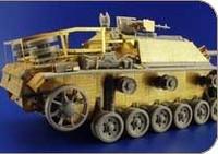 Zimmerit Stug III Ausf G Waffel for DML 1/35 Eduard