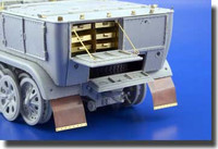 SdKfz 7 Zugkraftwagen 8-Ton Tool Boxes for TSM 1/35 Eduard