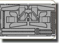 M7 Mid Prod Fenders for DML 1/35 Eduard